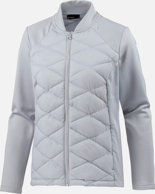 Scheck Funktionsjacke Funktionsjacke Funktionsjacke in grau  Mode neue Kleidung 5da990