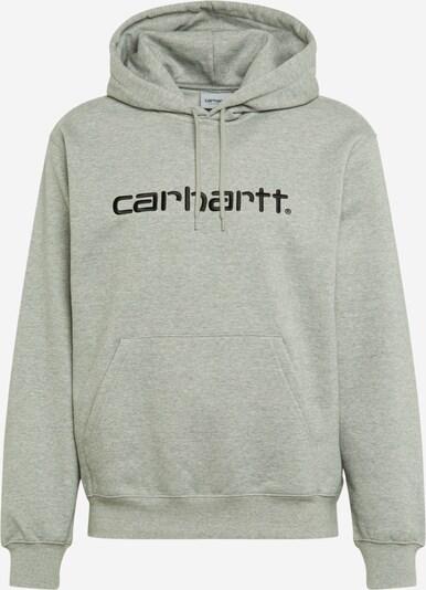 Carhartt WIP Mikina - sivá / čierna: Pohľad spredu