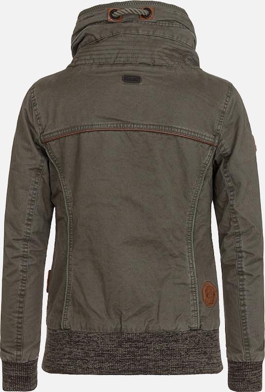 Naketano Jacket 'Wonderwaffel Nein Nein Nein' Nein' Nein' in khaki  Neue Kleidung in dieser Saison c8a397