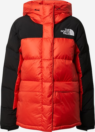 THE NORTH FACE Jacke 'W HMLYN DOWN PARKA' in orange / schwarz, Produktansicht