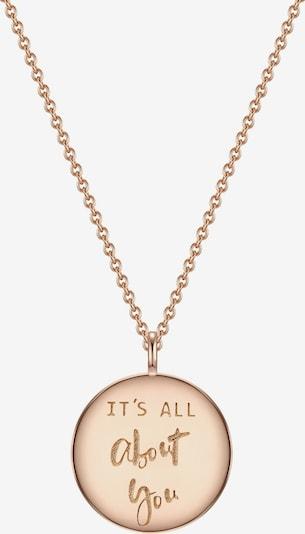 Glanzstücke München Halskette in gold: Frontalansicht
