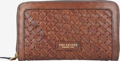 The Bridge Portemonnee 'Salinger' in de kleur Bruin / Goud, Productweergave