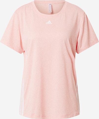 ADIDAS PERFORMANCE Koszulka funkcyjna 'STRIPE TEE' w kolorze różowy / białym, Podgląd produktu