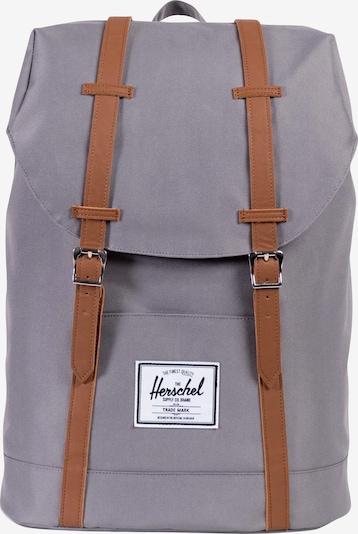 Herschel Rucksack in cognac / taupe, Produktansicht