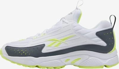 Sneaker low Reebok Classic pe galben neon / kaki / alb, Vizualizare produs