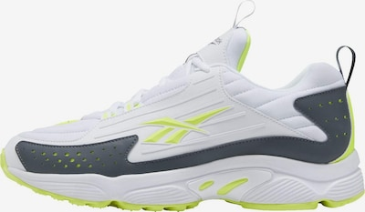 Reebok Classic Sneaker in neongelb / khaki / weiß, Produktansicht
