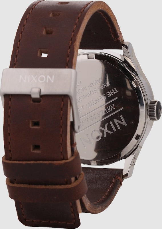 Nixon Armbanduhr  'Sentry Leather'