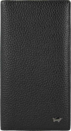 Braun Büffel Kreditkartenetui 'Turin' in schwarz, Produktansicht