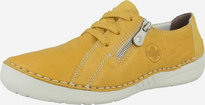 RIEKER Athletic Lace-Up Shoes in Mustard, Item view