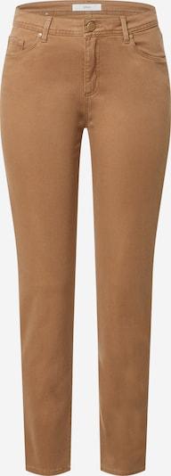 BRAX Teksapüksid helepruun: Eestvaade