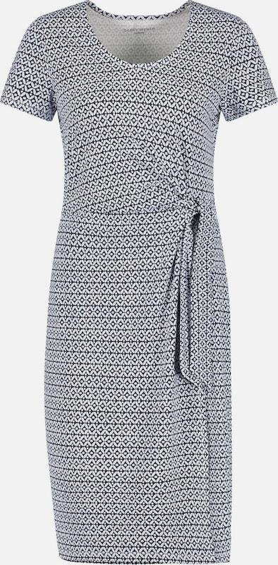 GERRY WEBER Kleid in dunkelblau dunkelblau dunkelblau   weiß  Freizeit, schlank, schlank 037b5f