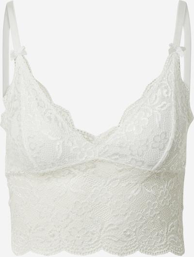 VILA Bralette 'SHELLY' in weiß, Produktansicht