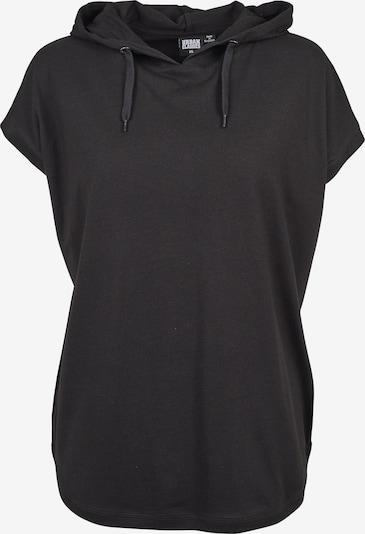 Urban Classics Curvy T-shirt oversize en noir, Vue avec produit