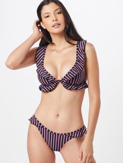 CHIEMSEE Bikini in pink / schwarz, Modelansicht