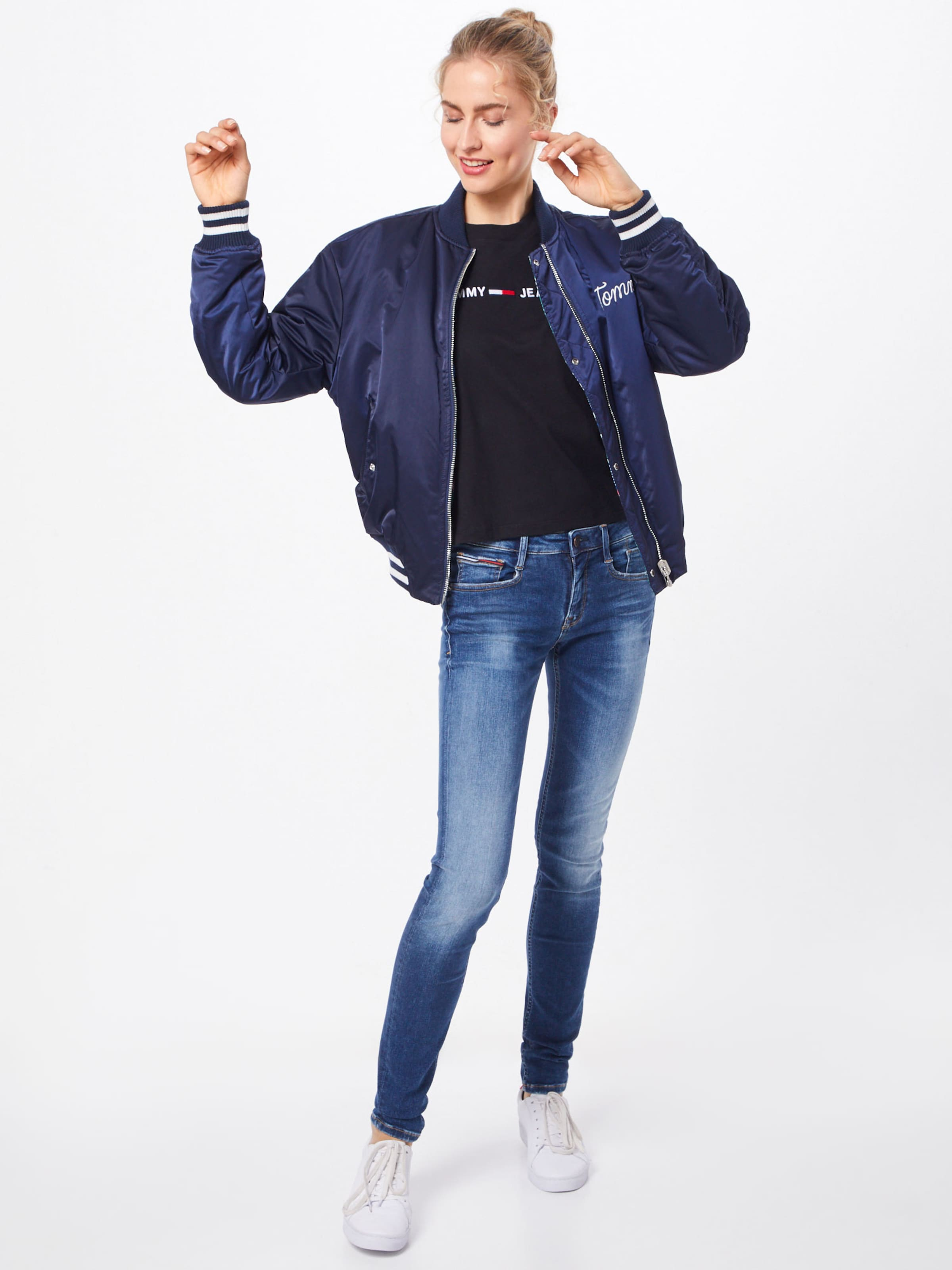 In 'scarlett' Tommy Blue Denim Jeans N80wnm
