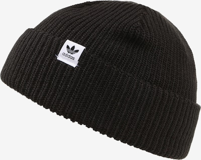 ADIDAS ORIGINALS Müts 'SHORTY BEANIE' must / valge, Tootevaade