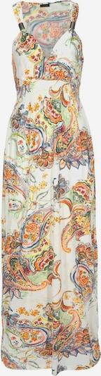 LASCANA Obleka za na plažo | svetlo oranžna / bela barva, Prikaz izdelka