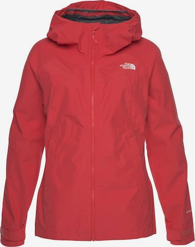 THE NORTH FACE Regenjacke in rot, Produktansicht