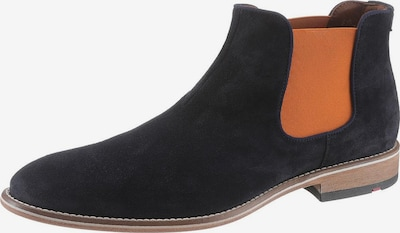 LLOYD Chelsea boots 'Gerson' in de kleur Nachtblauw / Cognac, Productweergave