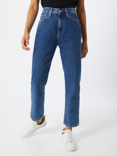 Calvin Klein Jeans Kavbojke | moder denim barva, Prikaz modela