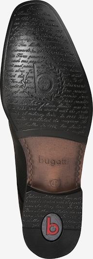 bugatti Schnürer 'Mattia 2' in schwarz: Ansicht von unten