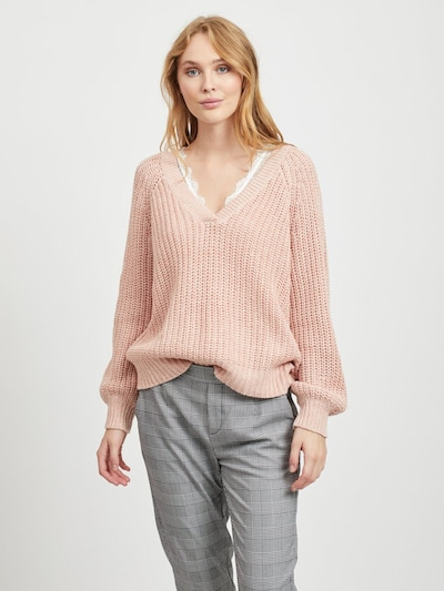 OBJECT Pullover 'PENNY' in rosa, Modelansicht