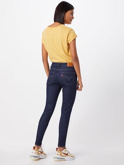 LEVI'S Jeans '720™ HIRISE SUPER SKINNY' in Dark blue: Rear view