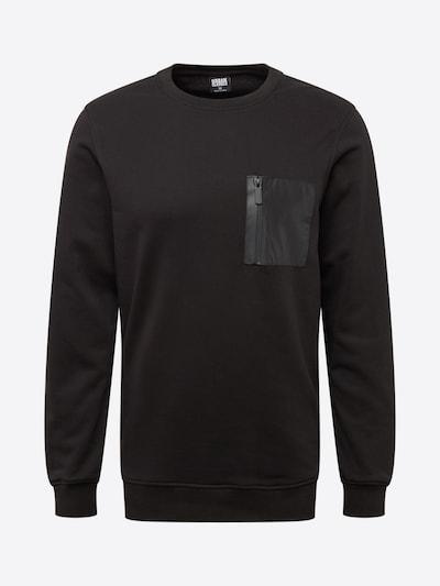 Urban Classics Bluzka sportowa w kolorze czarnym: Widok z przodu