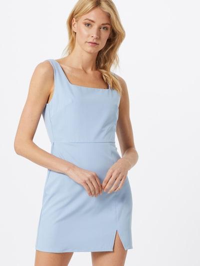 Fashion Union Kleid 'DISCO' in hellblau: Frontalansicht