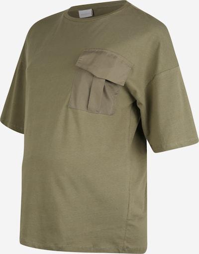 MAMALICIOUS T-shirt 'Kira' en vert, Vue avec produit