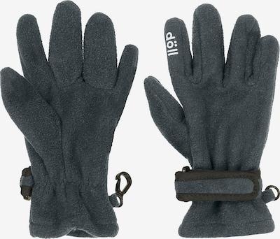 DÖLL Handschuhe in dunkelgrau / schwarz, Produktansicht