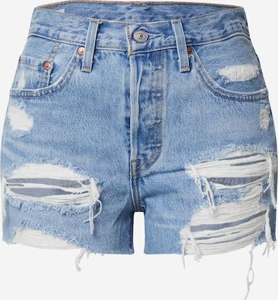 LEVI'S Shorts '501® HIGH RISE' in blue denim, Produktansicht