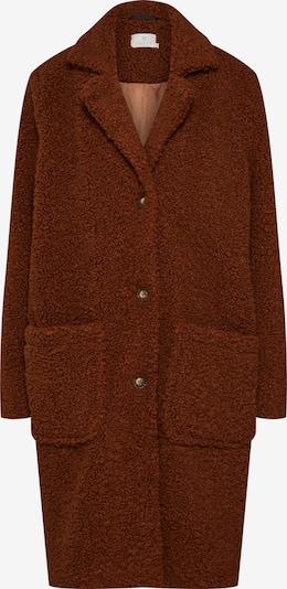 Kaffe Płaszcz przejściowy 'Balma Teddy' w kolorze brązowym: Widok z przodu