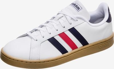 ADIDAS PERFORMANCE Sneaker 'Grand Court' in nachtblau / rot / weiß, Produktansicht