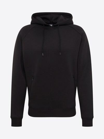 Urban Classics Sweatshirt in schwarz: Frontalansicht