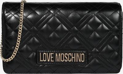 Geantă de umăr 'BORSA' Love Moschino pe auriu / negru, Vizualizare produs