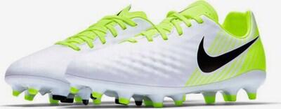NIKE Fußballschuh ' Magista Opus Jr II FG ' in neongrün / weiß, Produktansicht