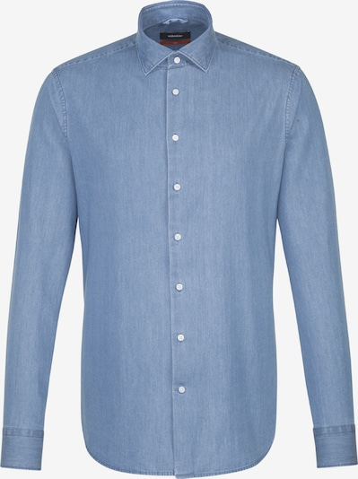 SEIDENSTICKER Hemd in blue denim, Produktansicht