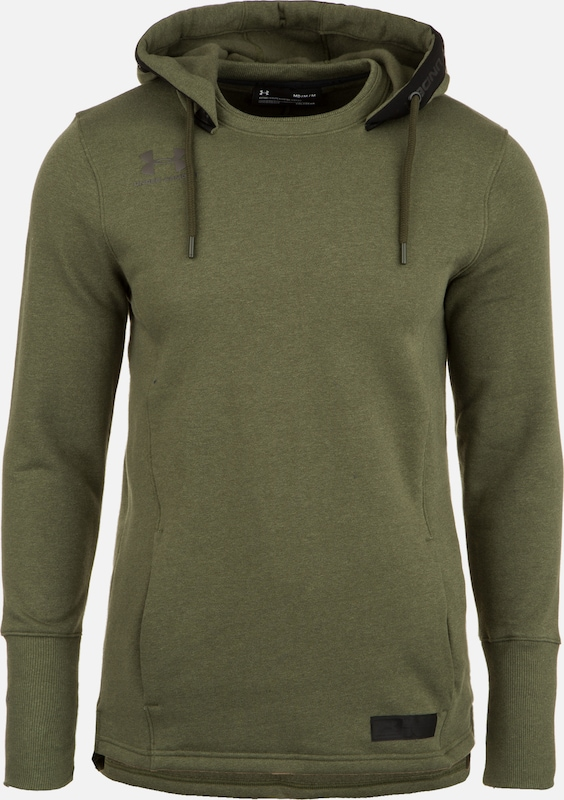 UNDER ARMOUR Sportsweatshirt in de kleur Groen, Productweergave