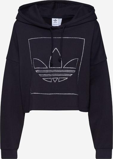 ADIDAS ORIGINALS Sweat-shirt en noir, Vue avec produit