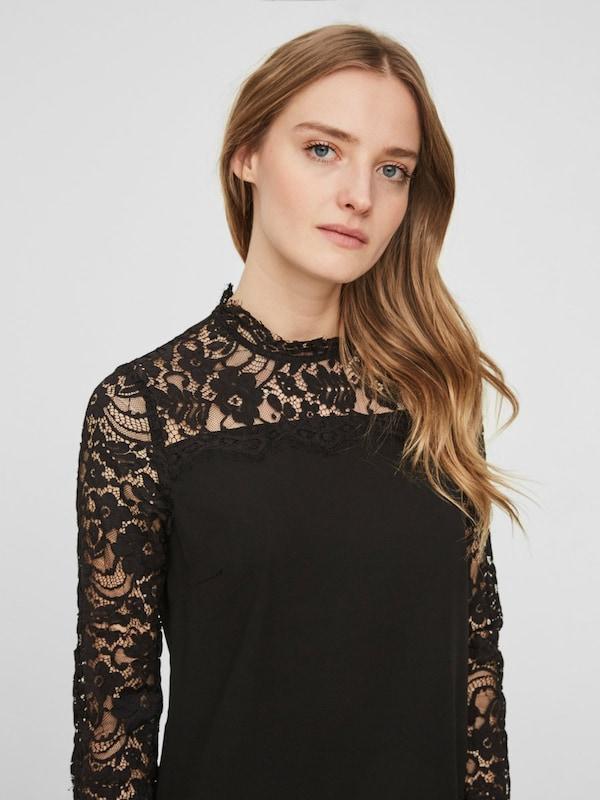 VERO MODA Spitzen-Bluse