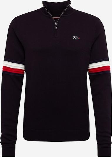 Tommy Hilfiger Tailored Pull-over en rouge / noir / blanc, Vue avec produit