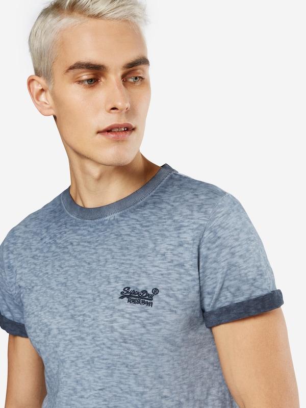 Superdry Shirt Orange Label Low Roller Tee