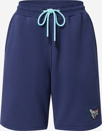 PARI Shorts 'SPORTS CLUB CAT' in navy, Produktansicht