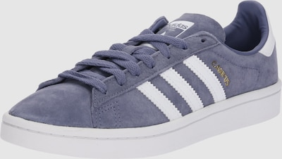 ADIDAS ORIGINALS Sneakers laag 'Campus' in Smoky blue / Wit