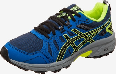 ASICS Laufschuh 'Gel-Venture 7 Gs' in blau / kiwi / schwarz, Produktansicht