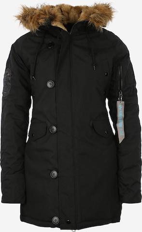 ALPHA INDUSTRIESPrijelazni kaput 'Explorer' - crna boja