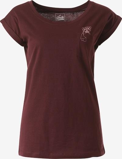 Lakeville Mountain T-Shirt 'Gami' in rot / bordeaux / dunkelrot, Produktansicht