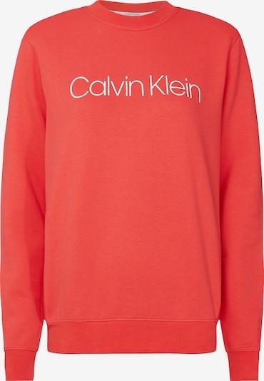 Calvin Klein Sweatshirt in de kleur Zalm roze / Wit, Productweergave