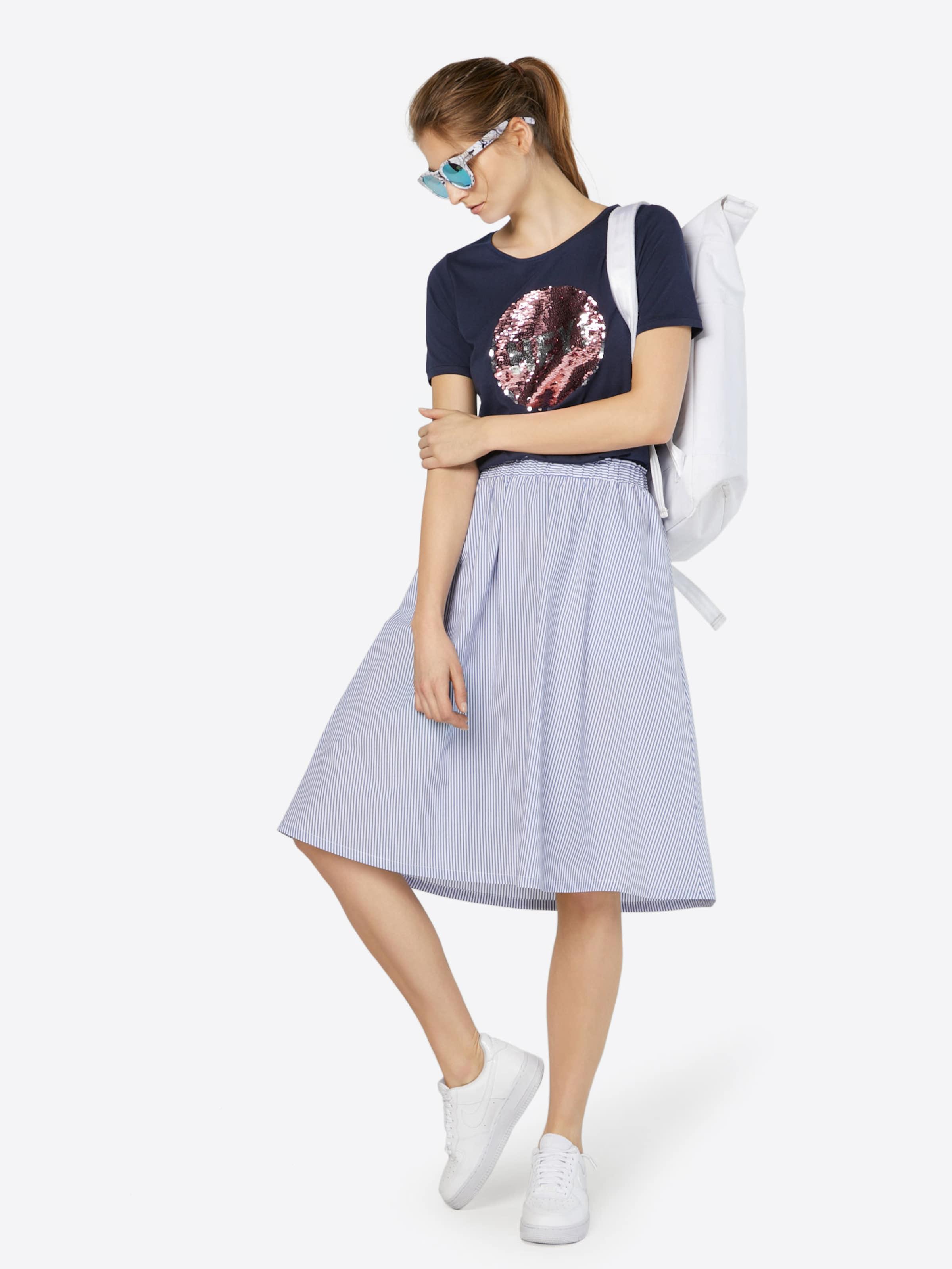 STREET ONE Shirt mit Paillettenbesatz 2018 Neue Billig Verkauf Beruf Suche Nach Günstiger Online z0H0lJ3B5